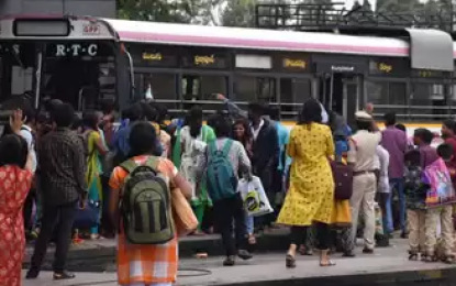 Tsrtc Strike Effect: Temporary Conductors Collecting Over Charges And Pocketing Ticket Money