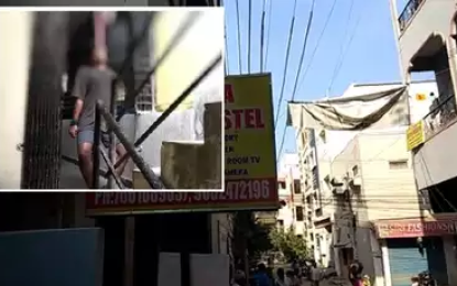 Gudivada Youth Hangs Self In Kukatpally Hostel